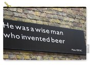 Beer Sign Carry-all Pouch