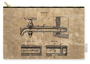Beer Tap Patent Carry-all Pouch