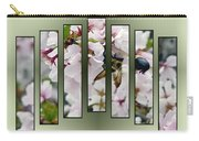 Bees And Blossoms Carry-all Pouch