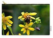 Bees At Work Carry-all Pouch
