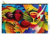 Beet Salad Pointillism Carry-all Pouch