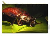 Beetle With Powerful Mandibles Carry-all Pouch