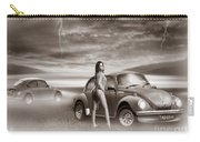 Beetles At The Beach Carry-all Pouch