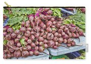 Beets At The Farmers Market Carry-all Pouch