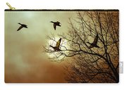 Before A Winter Sky Carry-all Pouch by Bob Orsillo