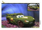 Before And After Sample Art 29 Floral Lightning Mcqueen Carry-all Pouch by Thomas Woolworth