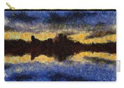 Before Sunset Carry-all Pouch by Ayse Deniz