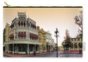 Before The Gates Open Main Street Magic Kingdom Carry-all Pouch
