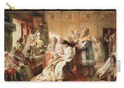 Before The Wedding, 1890 Oil On Canvas Carry-all Pouch