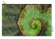 Begonia Leaf Carry-all Pouch