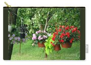 Begonias On Line Carry-all Pouch