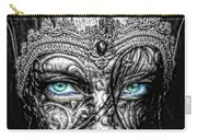 Behind Blue Eyes Carry-all Pouch by Mo T