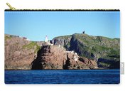 Behind Fort Amherst Rock 2 By Barbara Griffin Carry-all Pouch