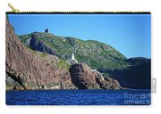 Behind Fort Amherst Rock By Barbara Griffin Carry-all Pouch