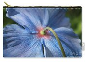 Behind The Blue Poppy Carry-all Pouch