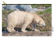 Beige Colored Polar Bear Carry-all Pouch