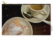 New Orleans Beignets And Coffee Au Lait  Carry-all Pouch