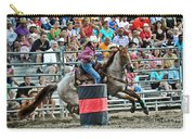 Being Clocked Carry-all Pouch by Gary Keesler