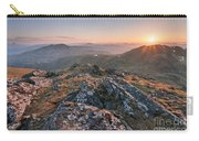 Sunset From Beinn Ghlas - Scotland Carry-all Pouch