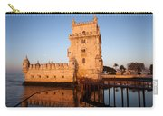 Belem Tower At Sunrise In Lisbon Carry-all Pouch
