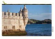 Belem Tower Fortification On The Tagus River Carry-all Pouch