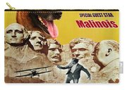 Belgian Malinois Art Canvas Print - North By Northwest Movie Poster Carry-all Pouch