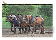 Belgians Four Abreast Carry-all Pouch