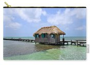 Belize Pier And Seascape Carry-all Pouch