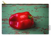 Bell Pepper On Green Board Carry-all Pouch