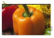 Bell Peppers And Poms Carry-all Pouch