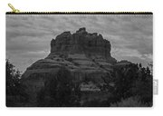 Bell Rock In Black White Carry-all Pouch