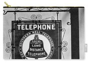 Bell Telephone Sign, C1899 Carry-all Pouch