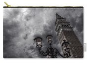 Bell Tower And Street Lamp Carry-all Pouch