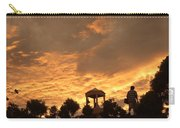 Bell Tower At Sunset Carry-all Pouch
