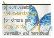 Bella Butterflies 1 Carry-all Pouch
