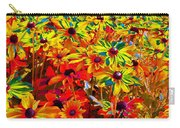 Bella Flora Painting Carry-all Pouch