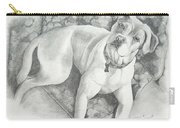 Bella My Pup Carry-all Pouch by Joette Snyder