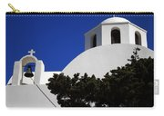 Bella Santorini Island Church Greece  Carry-all Pouch