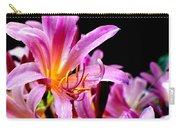 Belladonna Lilies Carry-all Pouch