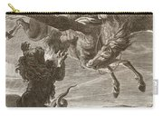 Bellerophon Fights The Chimaera, 1731 Carry-all Pouch