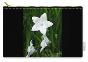 Bellflower - Campanula Carpatica Carry-all Pouch