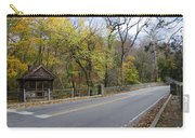 Bells Mill Road In Autumn Carry-all Pouch