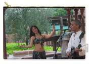 Belly Dancer And Performer At Morocco Pavilion Carry-all Pouch