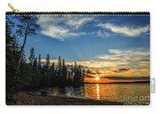 Beautiful Sunset At Waskesiu Lake Carry-all Pouch