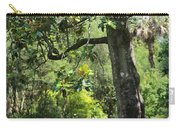 Bench Under The Magnolia Tree Carry-all Pouch