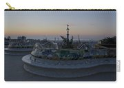 Benches At Parc Guell Carry-all Pouch