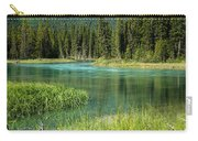 Bend In Mistaya River Carry-all Pouch