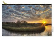 Bend In The Bayou Sunrise Carry-all Pouch