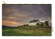 Beneath An Evening Sky Carry-all Pouch by Evelina Kremsdorf