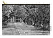 Beneath Live Oaks Bw Carry-all Pouch